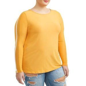 Long sleeve plus size shirt
